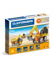 Конструктор Construction set 74 деталей CLICFORMERS