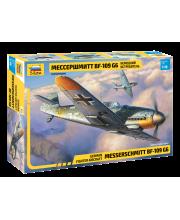 Сборная модель Самолёт Мессершмитт G6 ZVEZDA