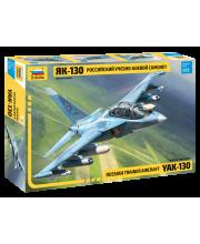 Сборная модель Российский учебно-боевой самолет Як-130 ZVEZDA