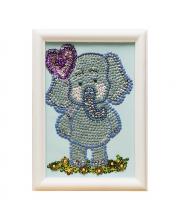 Мозаика из пайеток Слоненок Волшебная мастерская