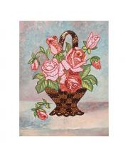Мозаика из пайеток Букет роз Волшебная мастерская