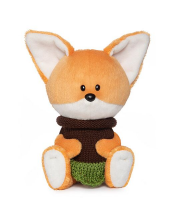 Мягкая игрушка Лисичка Лика BUDI BASA