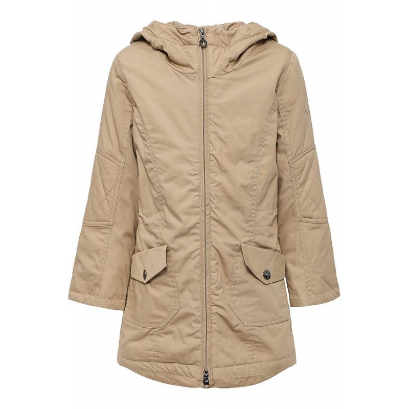 КурткаКуртка бежевого цвета марки Finn Flare для девочек.<br>Внешний материал куртки выполнен из чистого хлопка. Модель застегивается на молнию и дополненакапюшоном, удобными карманами,а также кулиской на талии.<br><br>Размер: 11 лет<br>Цвет: Бежевый<br>Рост: 146<br>Пол: Для девочки<br>Артикул: 645448<br>Бренд: Финляндия<br>Страна производитель: Китай<br>Сезон: Весна/Лето<br>Состав: 100% Хлопок<br>Состав подкладки: 100% Полиэстер<br>Вид застежки: Молния<br>Наполнитель: 100% Полиэстер