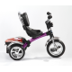 Спорт и отдых, Велосипед трехколесный 4 RT Original Fuksia Angel ICON (малиновый)650245, фото 5