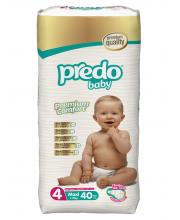 Подгузники Преимущественная пачка 7-18 кг 40 шт Predo Baby