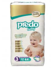 Подгузники Преимущественная пачка 4-9 кг 44 шт Predo Baby