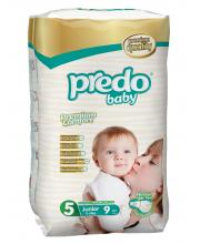Подгузники Стандартная пачка 11-25 кг 9 шт Predo Baby
