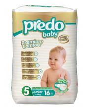 Подгузники Экономичная пачка 11-25 кг 16 шт Predo Baby