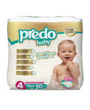 Подгузники Экономичная пачка 7-18 кг 20 шт Predo Baby