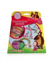Набор для плетения из резинок Маша и Медведь