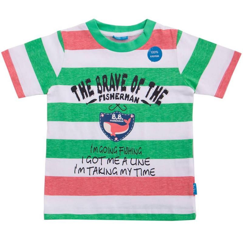 ФутболкаФутболка зеленого цвета марки Button Blue для мальчиков.<br>Футболка из чистого хлопка с коротким рукавом декорирована надписями и принтом с изображением кита, а также белыми и красными полосками.<br><br>Размер: 12 лет<br>Цвет: Зеленый<br>Рост: 152<br>Пол: Для мальчика<br>Артикул: 633769<br>Страна производитель: Бангладеш<br>Сезон: Весна/Лето<br>Состав: 100% Хлопок<br>Бренд: Россия