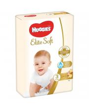 Подгузники 5 Elite Soft 5-9 кг 80 шт Huggies