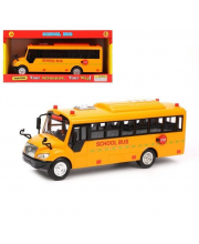 Автобус Школьный инерционный Наша Игрушка