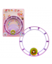 Бегущее колесо заводное Радуга Наша Игрушка