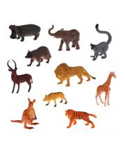Игровой набор Дикие животные 10 фигурок Наша Игрушка
