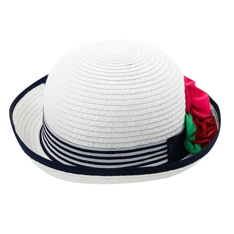 ШляпаШляпа темно-синегоцвета марки Mayoral для девочек.<br>Шляпа выгодно подчеркнутакрасивымицветами и бело-синей вставкой. Она дополнит летний и легкий образ ребенка.<br><br>Размер: 4 года<br>Цвет: Темносиний<br>Размер: 50<br>Пол: Для девочки<br>Артикул: 644219<br>Страна производитель: Китай<br>Сезон: Весна/Лето<br>Состав: 100% Бумага<br>Бренд: Испания