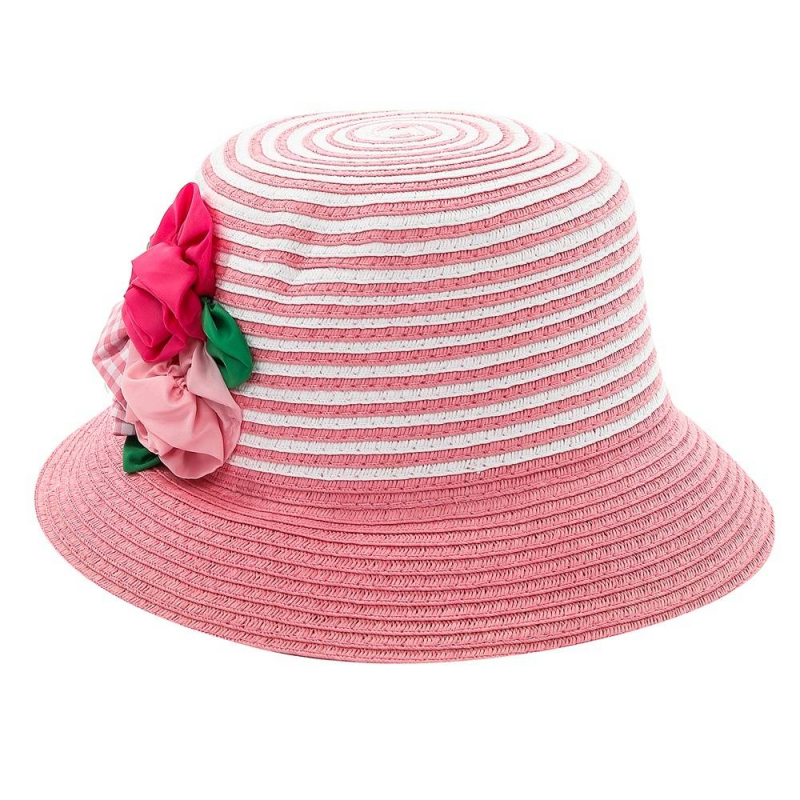 ШляпаШляпарозовогоцвета марки Mayoral для девочек.<br>Красиваяшляпа украшена милыми цветами и белыми вставками. Она дополнит летний и легкий образ ребенка.<br><br>Размер: 6 лет<br>Цвет: Розовый<br>Размер: 52<br>Пол: Для девочки<br>Артикул: 644837<br>Страна производитель: Китай<br>Сезон: Весна/Лето<br>Состав: 100% Бумага<br>Бренд: Испания