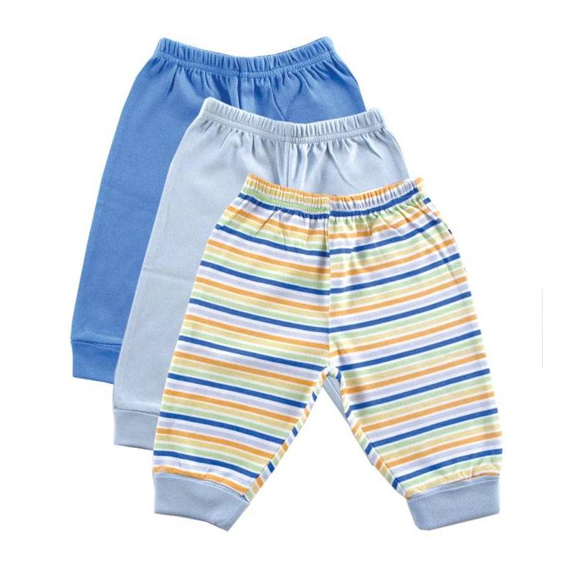 Комплект - LUVABLE FRIENDSКомплект из трех пар брюк голубого цвета марки LUVABLE FRIENDS для мальчиков. Брюки с отворотами и эластичным поясом на резинке выполнены из стопроцентного хлопкового трикотажа интерлок.<br><br>Размер: 6 месяцев<br>Цвет: Голубой<br>Рост: 68<br>Пол: Для мальчика<br>Артикул: 604977<br>Страна производитель: Индия<br>Сезон: Всесезонный<br>Ткань: Интерлок<br>Состав: 100% Хлопок<br>Бренд: США