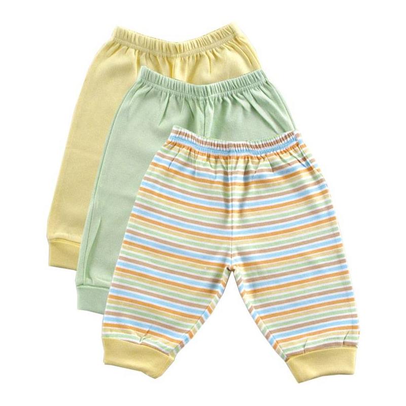 КомплектКомплект из трех пар брюк желтогоцвета марки LUVABLE FRIENDS. Брюки с отворотами и эластичным поясом на резинке выполнены из стопроцентного хлопкового трикотажа интерлок.<br><br>Размер: 9 месяцев<br>Цвет: Желтый<br>Рост: 74<br>Пол: Не указан<br>Артикул: 611407<br>Страна производитель: Индия<br>Сезон: Всесезонный<br>Ткань: Интерлок<br>Состав: 100% Хлопок<br>Бренд: США