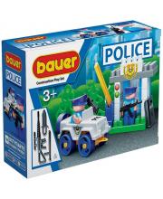 Конструктор Полиция КПП 48 элементов Бауер