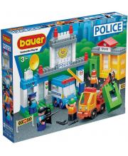 Конструктор Полиция Ограбление банка 191 элемент Бауер