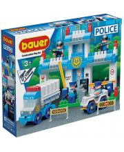 Конструктор Полиция Полицейский участок 127 элементов Бауер