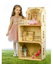 Конструктор Кукольный дом Любава Теремок