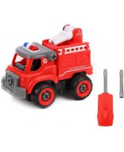 Конструктор-скрутка Пожарная машина Наша Игрушка
