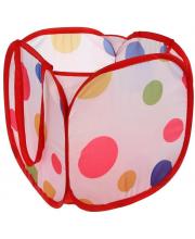 Корзина для игрушек Цветной горошек Наша Игрушка