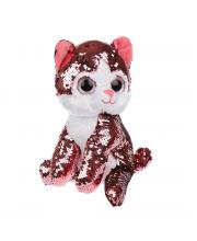 Котенок Блестяшка 23 см Fluffy Family