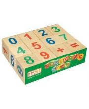 Кубики Веселый счет 12 шт Пелси