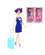 Кукла 29 см Стюардесса в ассортименте Наша Игрушка