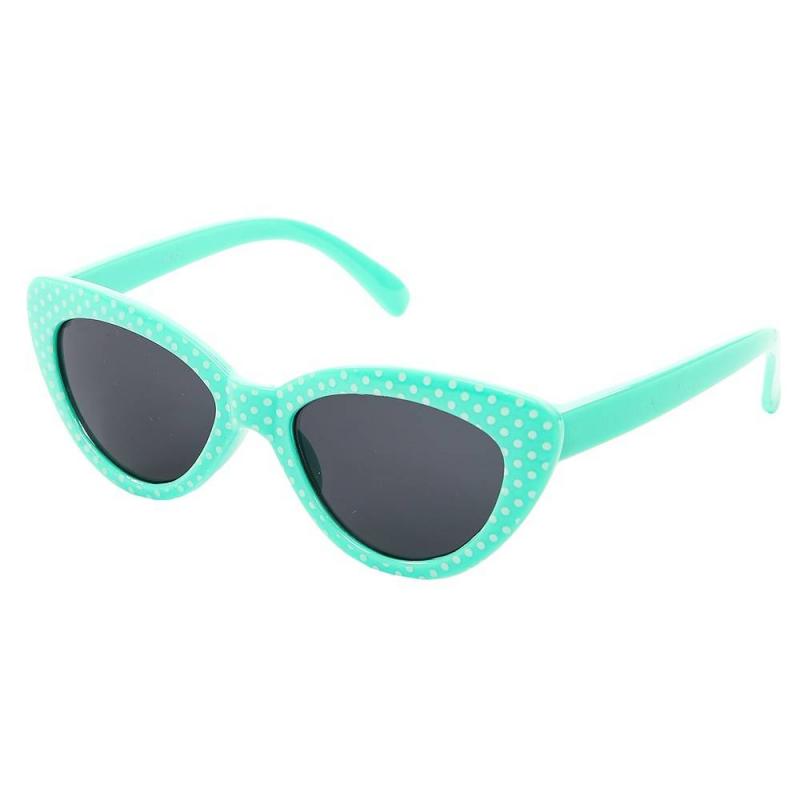 Солнцезащитные очкиСолнцезащитные очкибирюзовогоцвета маркиIncity для девочек.<br>Стильные очки выполненыиз пластика и декорированы принтом в мелкий горошек. Очкидополнят и украсят любой образ ребенка.<br><br>Размер: 5 лет<br>Цвет: Бирюзовый<br>Пол: Для девочки<br>Артикул: 644862<br>Страна производитель: Китай<br>Сезон: Всесезонный<br>Состав: 97% Поликарбонат, 3% Акрил<br>Бренд: Россия