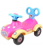 Машина-каталка Сабрина с гудком Полесье