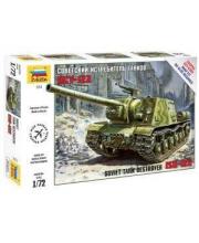 Модель Советский истребитель танков ИСУ-122 ZVEZDA