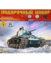 Модель Советсккий танк КВ-1 МОДЕЛИСТ