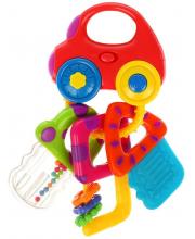 Музыкальная игрушка Машинка с ключиками Жирафики