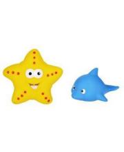Набор для купания Дельфин и морская звезда Жирафики