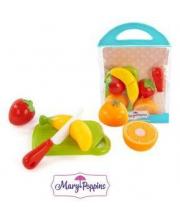 Набор для резки Учимся готовить фрукты 3 шт в ассортименте Mary Poppins
