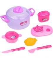 Набор посуды 9 предметов в ассортименте Наша Игрушка