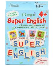 Настольная игра Super English Нескучные игры