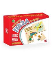 Пазлы Транспорт Русские деревянные игрушки