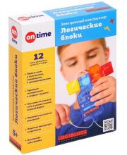 Электронный конструктор Logiblocs 12 проектов ON TIME