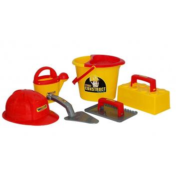 Игрушки, Набор каменщика Wader 650106, фото