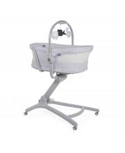 Кроватка-стульчик Baby Hug 4-в-1 Air Stone Chicco