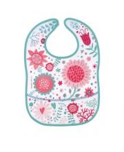 Нагрудник водонепроницаемый с карманом Wild Nature Canpol Babies