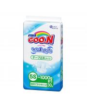 Подгузники 5S до 1 кг Goon