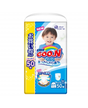 Подгузники-трусики для мальчиков XL 12-20 кг Goon