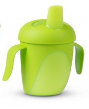 Чашка-непроливайка Tropical Bird 240 мл Canpol Babies