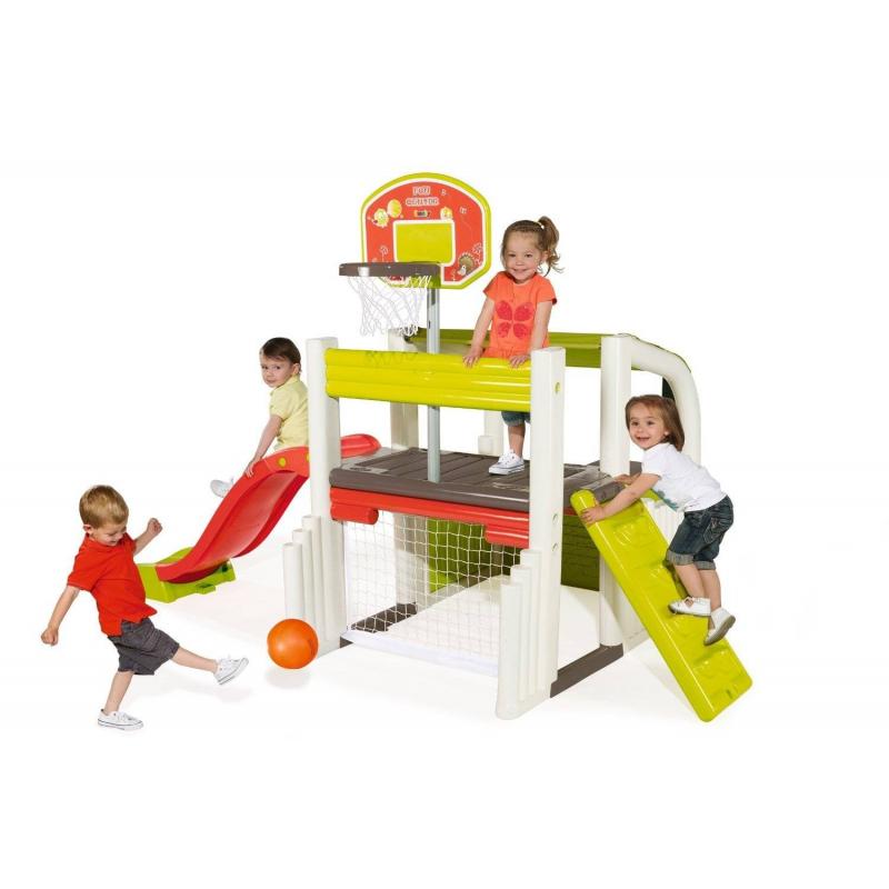 Smoby Спортивно-игровой комплекс smoby детская горка king size цвет красный